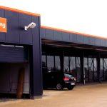 Gebäude - Fahrzeugaufbereitung